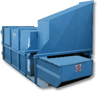 Integrated waste compactor