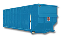Open roll-off container